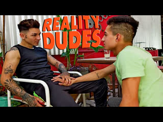 RealityDudes — Dudes In Public 54 — Courtyard — Axel & Ro