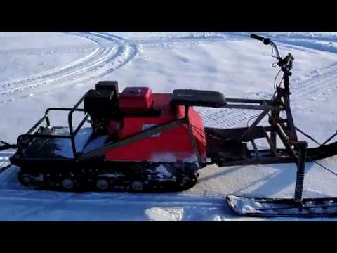Мотобуксировщик форза с лыжным модулем покатушки по насту