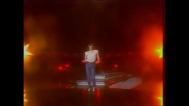 Miguel Bosé di T CUTUGNO Je vais gagner 1980 Olympic Games
