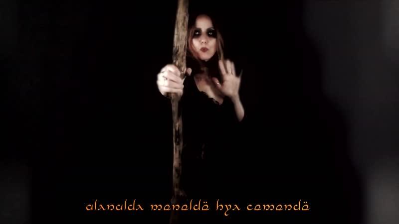 Isil lúna Dark moon Elven song 2020 atmospheric dark music middle earth song dark celtic