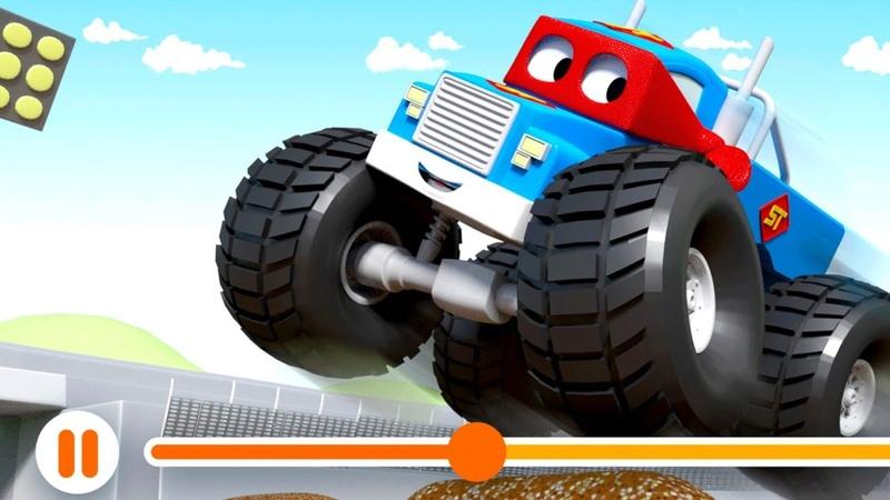 Araba Şehir Dünyası Küçük Çocuklar TV İzleyin ve Öğrenin - Mcqueen, Mack Kamyon ve arkadaşları