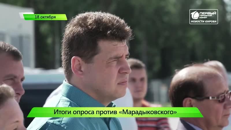 Большинство против Марадыковского . 18.10.2019
