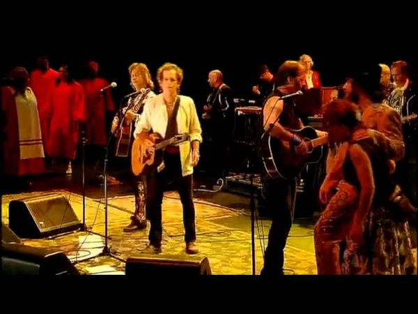 Keith Richards and Friends Wild Horses live 2004