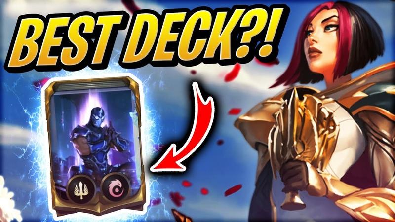 100 Win Rate FIORA OTK Deck | Legends of Runeterra | Card game | League of Legends
