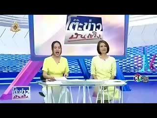Видео 190831 Репортаж о сильном фанмитинге Чжинёна в Бангкоке на одном из тайских телеканалов.