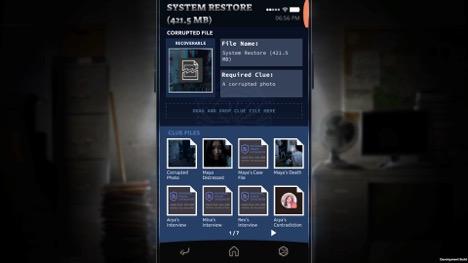 Вы можете хранить и сканировать улики, чтобы с их помощью открывать новый контент на телефоне