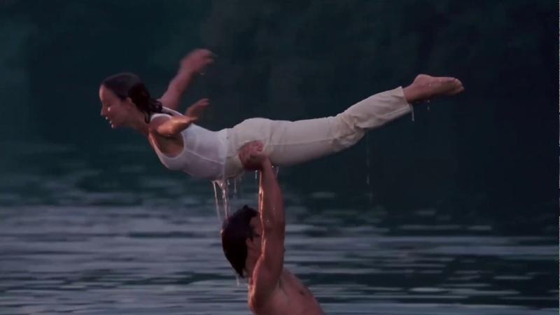 Держать Равновесие отрывок из фильма Грязные Танцы Dirty Dancing 1987
