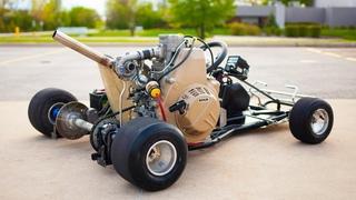 Turbo Diesel Go-Kart  (Diesel vs HydroDiesel)