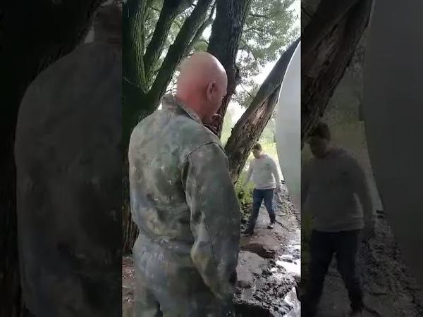 Иваново, фекалии сливают в реку Уводь, 11 июля 2019 года