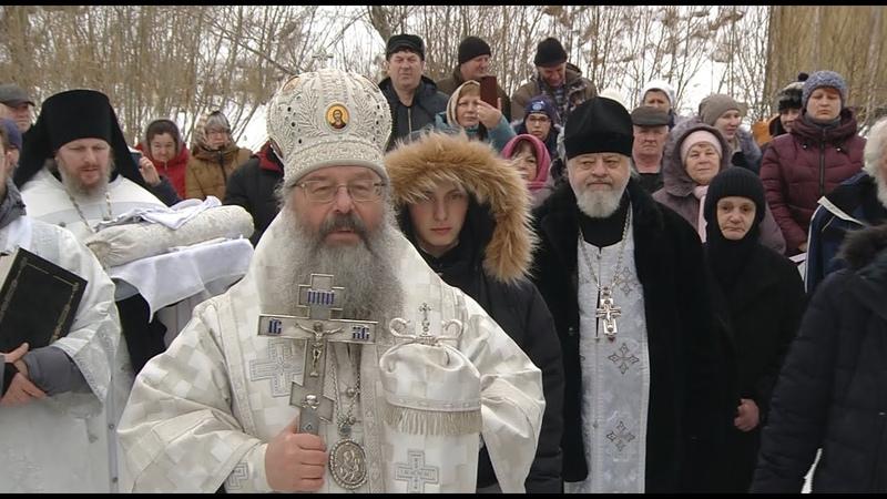 Архиерейская Божественная литургия в Боголюбском монастыре Крещение Господне 19 01 20