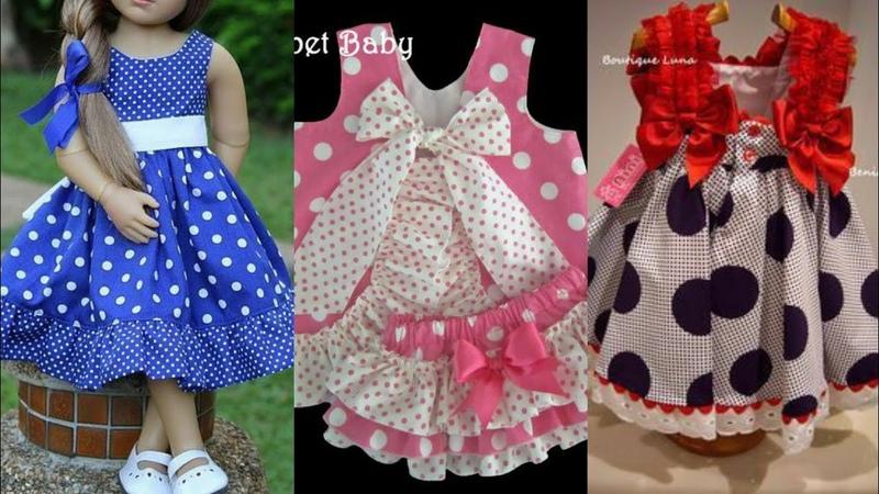 Beautiful And Stylish Little Girls Cotton Frocks Designs