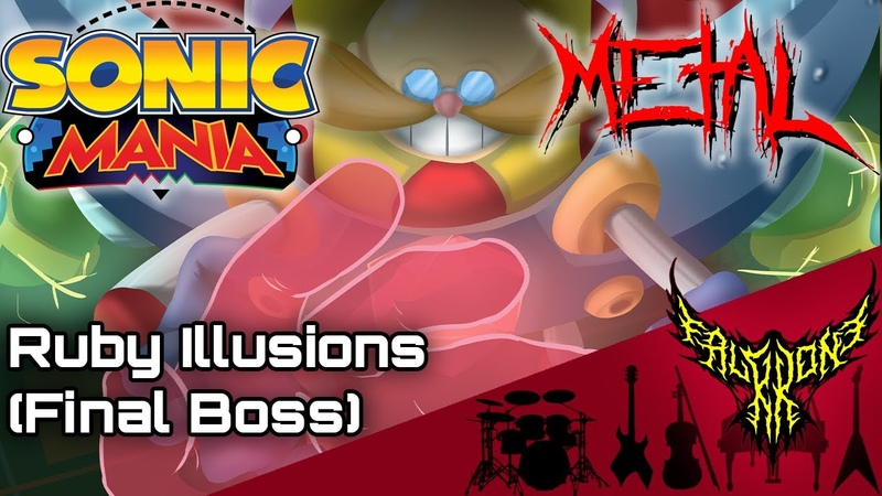 Sonic Mania Ruby Illusions Final Boss Intense Symphonic Metal Cover