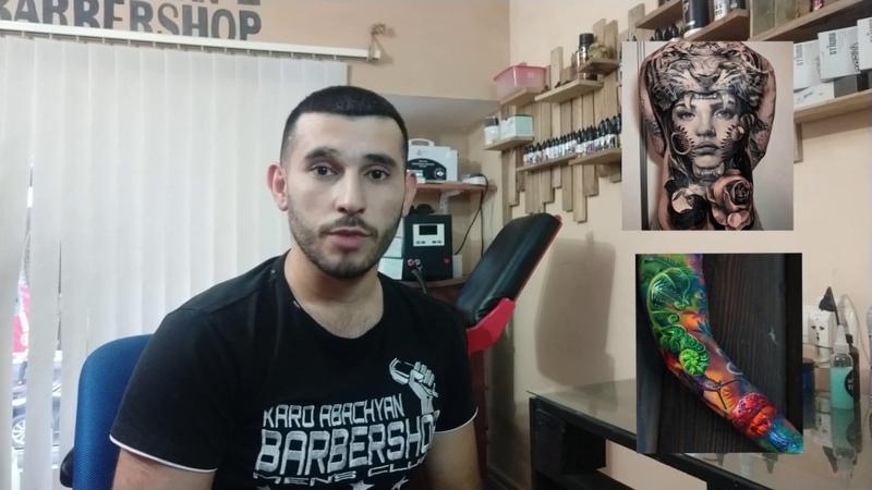 Inchpes @ntrel dajvacqi masnaget Black Silver Tattoo Yerevan Armenia