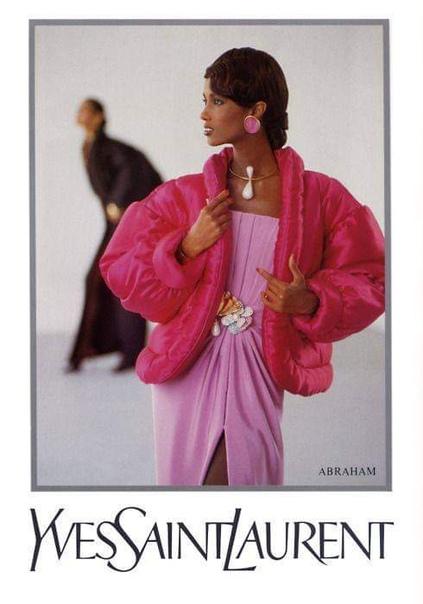 Иман Абдулмаджид или просто Иман, модель и жена Дэвида Боуи Фотосессии конца 1980х-начала 90х.