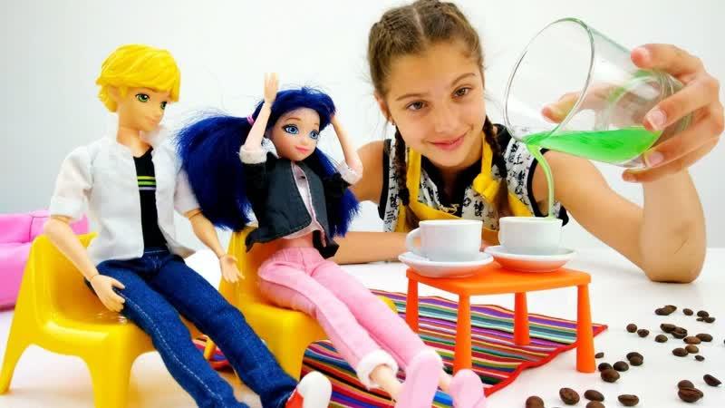 Лучшие Подружки • Работа для Полен - Бариста - Видео для девочек с Маринетт