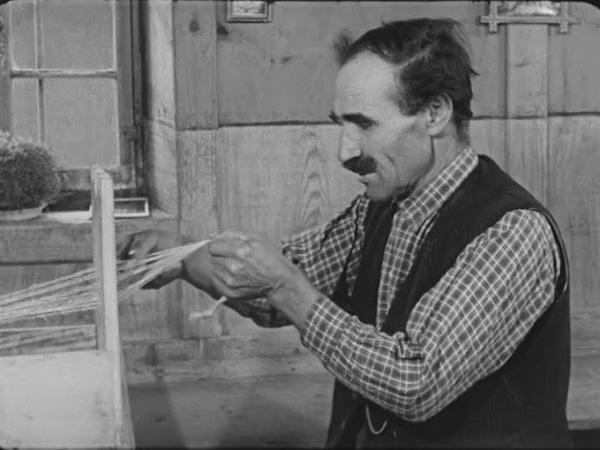 Weben eines Bandes Weaving a Tape -1964