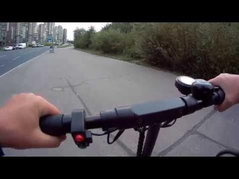 Велопрогулка с Kugoo M4 Pro 29 07 2019 вечер