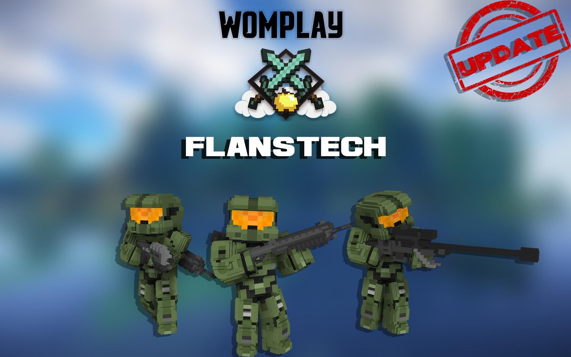 FlansTech - Вайп и глобальное обновление