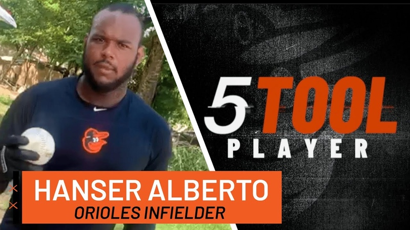 Hanser Albertos Batting Drills to Improve Your Swing 5-Tool Player Series | Baltimore Orioles