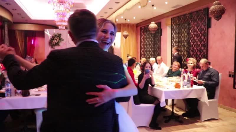 Танец дочки и папы на свадьбе