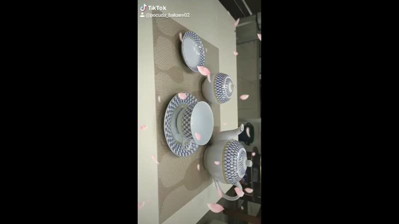 6 персон столовый набор
