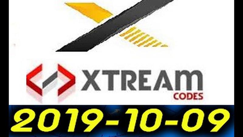 18 اكواد Xtream Code IptV لجميع الباقات بتاريخ 09/10/2019