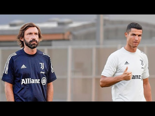 👔⚽ ANDREA PIRLO MEETS HIS JUVENTUS SQUAD First Training Session
