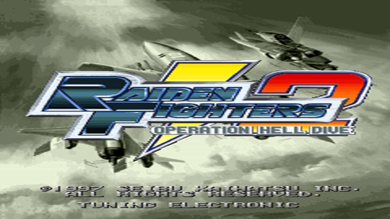 10 Error Raiden Fighters 2 Operation Hell Dive Seibu SPI System Soundtrack Arcade