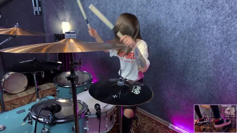 Bring Me The Horizon - Antivist (Drum Cover by Kristina Rybalchenko)