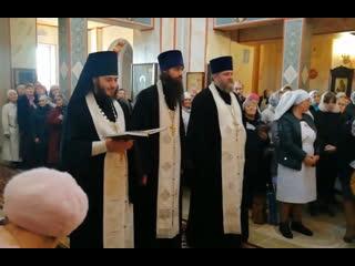 Открытие обновленного храма Архистратига Михаила в Ревде, , запись онлайна