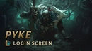 Pyke the Bloodharbor Ripper Login Screen League of Legends