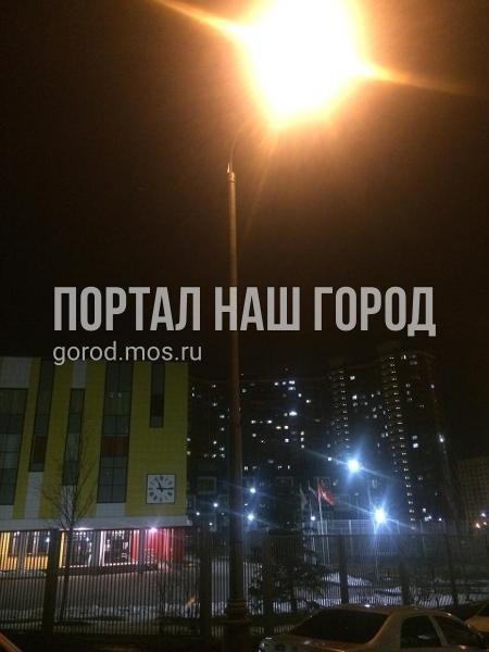 Коммунальщики восстановили освещение во дворе на Недорубова