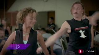 ансамбль Сухишвили в танц.зале - танец Тамаши ()