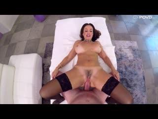 Lisa Ann - Sex On Thanksgiving - Porno, Big Tits, MILF, Blowjob, Brunette, All Sex, Porn, Порно