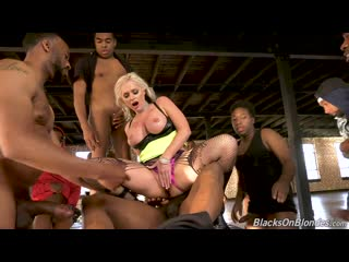 Alena Croft 3 in 'Dogfart' (Blacks On Blondes)