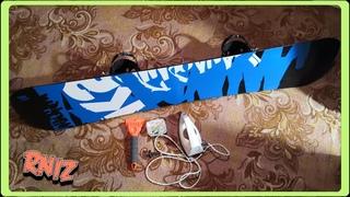 Как самому дома запарафинить сноуборд используя простые инструменты.