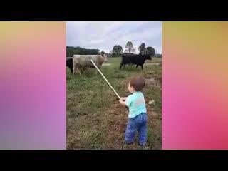 Забавные детки - Приколы и смешные моменты с детьми