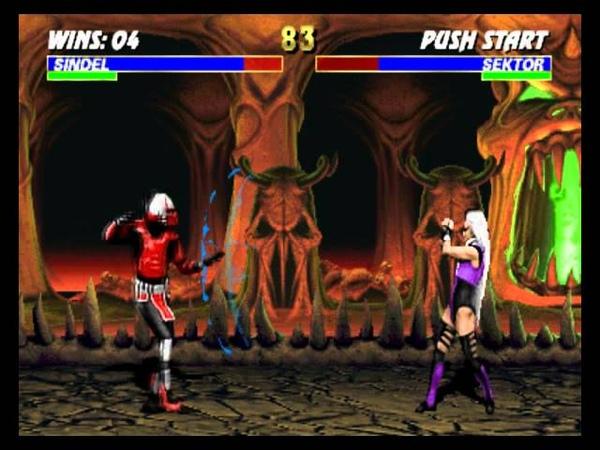 Mortal Kombat 3 Sindel playthrough