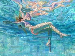 underwater painting easy - 880×659