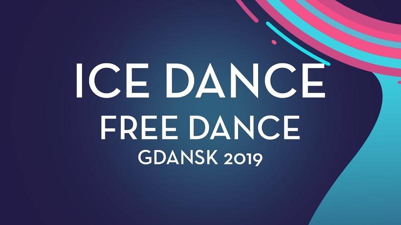 Ekaterina Katashinskaia / Aleksandr Vaskovich (RUS) | Ice Dance Free Dance | Gdansk 2019