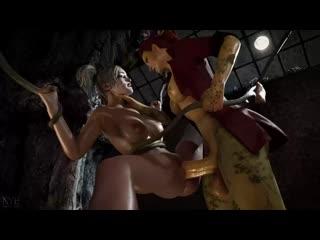 Futa Poison Ivy fucking Harley Quinn, (Nyl) [DC Comics  Batman] 3D Porno R34