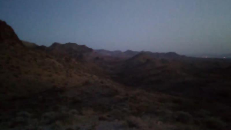 23 10 2019 Аризона странные треугольные огни в пустыне