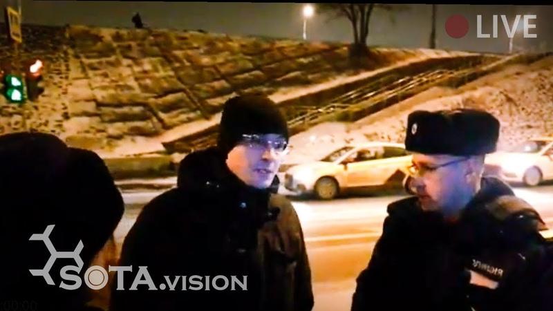 Срочно! ЧОП пытается разогнать протестный лагерь ЮВХ в Москве
