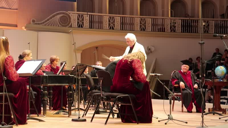 Гуннар Тулубьев на концерте оркестра им Осипова и Павла Любимцева в зале Чайковского