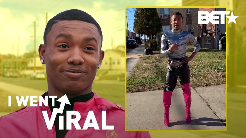 Dremon Super B***h Cooper Is a Superhero in Pink Thigh High Boots I Went Viral