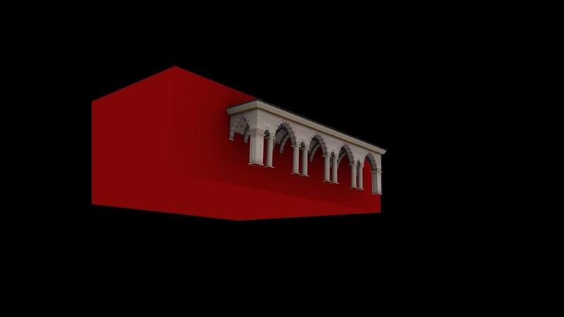 Мечеть Сердце Чечни Моделирование часть 1