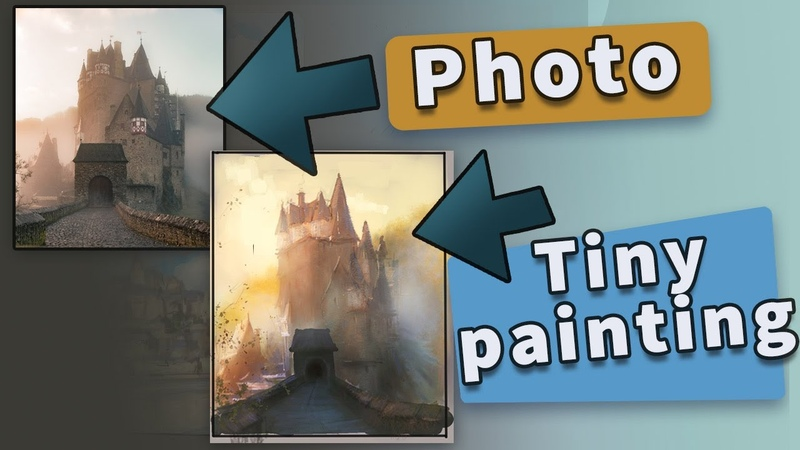 Painting Photo Studies TIPS and I use Clip Studio Paint