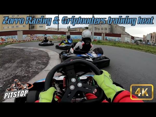 15 07 2020 Zorro Racing Griphunters training PitStop Narvskaya Damaskin Danilov Novorussky