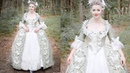 Making a Mint and White Rococo Costume | Part Three