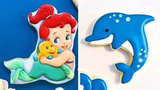 10 Fun and Creative Cookies Decorating Ideas With Beach Oddly Satisfying Cookies Videos